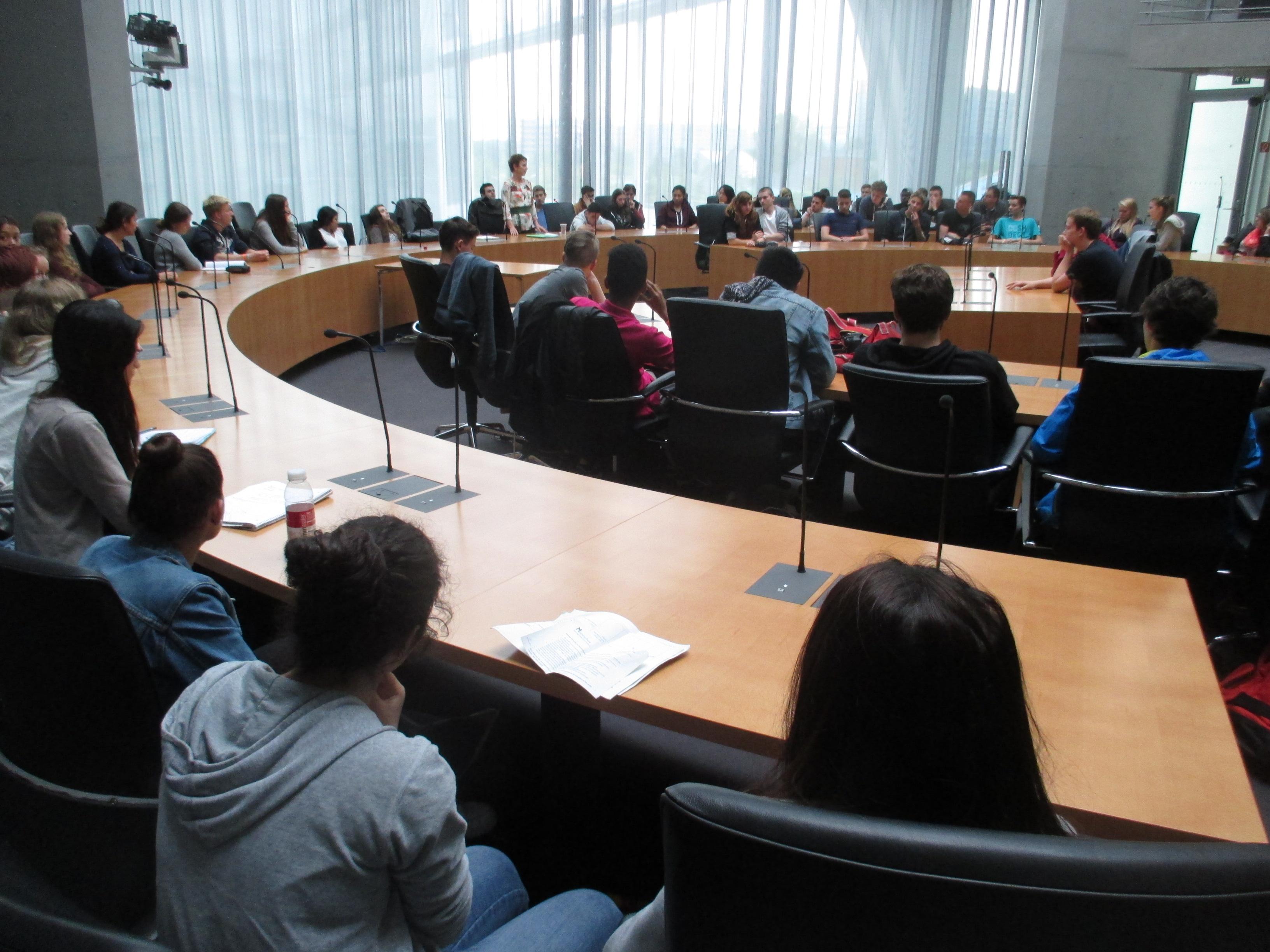 Ein Treffen mit der Bundestagsabgeordneten Sabine Leidig
