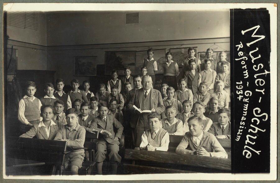 Klassenfoto von Walter Sommers von 1934