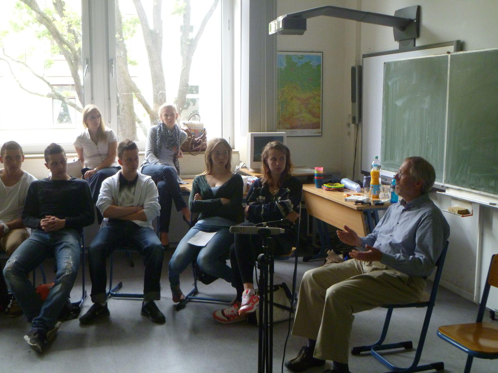Besuch von Ron Sommers 2010